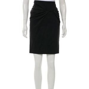 Brunello Cucinelli for Saks Cashmere Skirt 44, 8